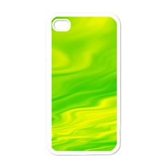 Green Apple iPhone 4 Case (White)