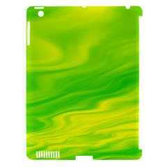 Green Apple iPad 3/4 Hardshell Case (Compatible with Smart Cover)