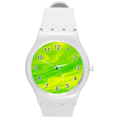 Green Plastic Sport Watch (Medium)