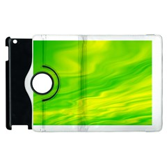 Green Apple iPad 2 Flip 360 Case