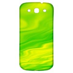 Green Samsung Galaxy S3 S III Classic Hardshell Back Case