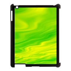 Green Apple iPad 3/4 Case (Black)