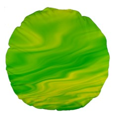 Green 18  Premium Round Cushion