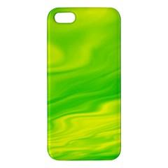 Green Iphone 5 Premium Hardshell Case