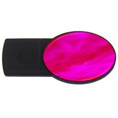 Design 4GB USB Flash Drive (Oval)