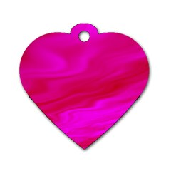 Design Dog Tag Heart (One Sided)