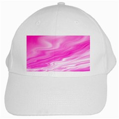 Background White Baseball Cap