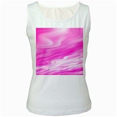 Background Womens  Tank Top (white)