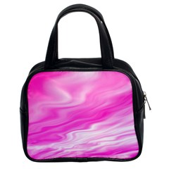 Background Classic Handbag (two Sides)