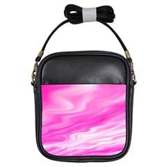 Background Girl s Sling Bag