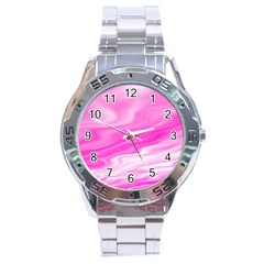 Background Stainless Steel Watch (Men s)