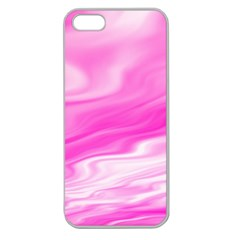 Background Apple Seamless iPhone 5 Case (Clear)