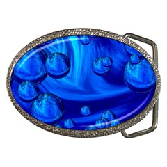 Modern  Belt Buckle (oval)