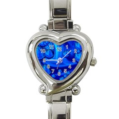 Modern  Heart Italian Charm Watch
