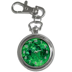 Green Bubbles Key Chain & Watch