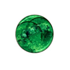 Green Bubbles Golf Ball Marker (for Hat Clip)
