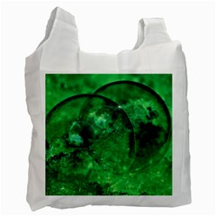 Green Bubbles Recycle Bag (two Sides)
