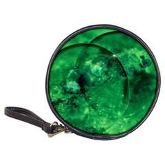Green Bubbles CD Wallet