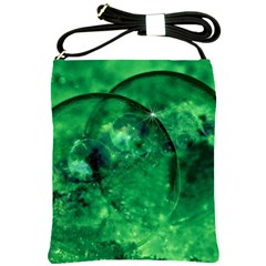 Green Bubbles Shoulder Sling Bag