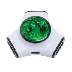 Green Bubbles 3 Port Usb Hub