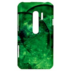 Green Bubbles HTC Evo 3D Hardshell Case