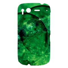 Green Bubbles HTC Desire S Hardshell Case