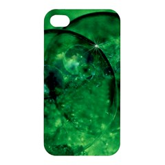 Green Bubbles Apple iPhone 4/4S Premium Hardshell Case