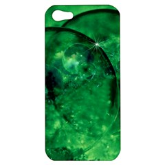 Green Bubbles Apple iPhone 5 Hardshell Case