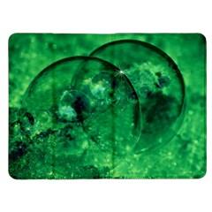Green Bubbles Kindle Fire Flip Case