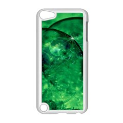 Green Bubbles Apple iPod Touch 5 Case (White)