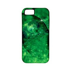 Green Bubbles Apple Iphone 5 Classic Hardshell Case (pc+silicone)