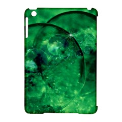 Green Bubbles Apple Ipad Mini Hardshell Case (compatible With Smart Cover)