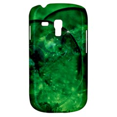 Green Bubbles Samsung Galaxy S3 Mini I8190 Hardshell Case