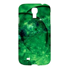 Green Bubbles Samsung Galaxy S4 I9500/I9505 Hardshell Case