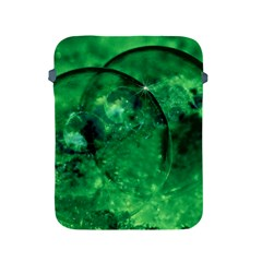 Green Bubbles Apple iPad 2/3/4 Protective Soft Case