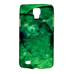 Green Bubbles Samsung Galaxy S4 Active (I9295) Hardshell Case