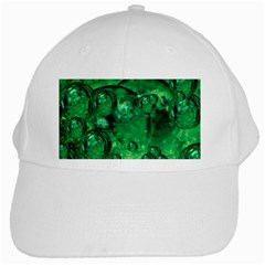 Illusion White Baseball Cap