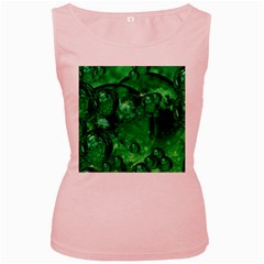 Illusion Womens  Tank Top (Pink)