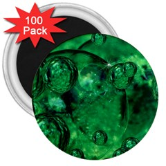 Illusion 3  Button Magnet (100 pack)