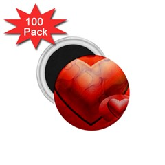 Love 1.75  Button Magnet (100 pack)