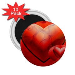 Love 2.25  Button Magnet (10 pack)