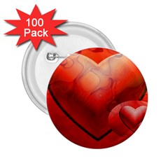Love 2.25  Button (100 pack)