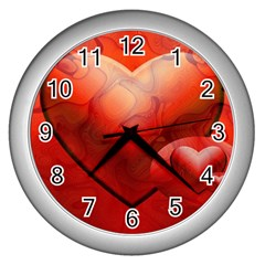 Love Wall Clock (Silver)