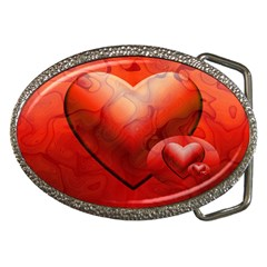 Love Belt Buckle (oval)