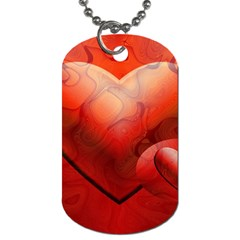 Love Dog Tag (One Sided)