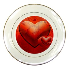 Love Porcelain Display Plate