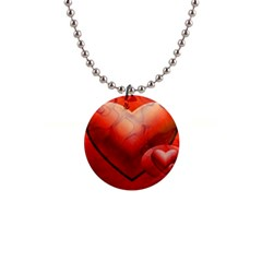 Love Button Necklace