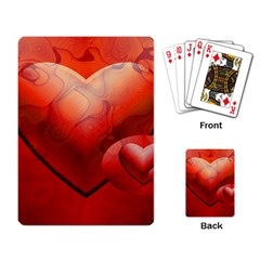 Love Playing Cards Single Design