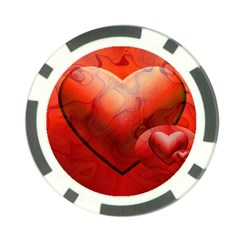 Love Poker Chip (10 Pack)
