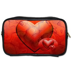 Love Travel Toiletry Bag (One Side)